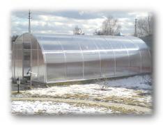 Greenhouse garden for home and garden