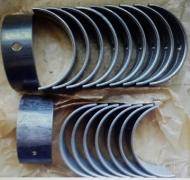 Inserts indigenous and connecting rod and rings for GAZ-24 and GAZ-21